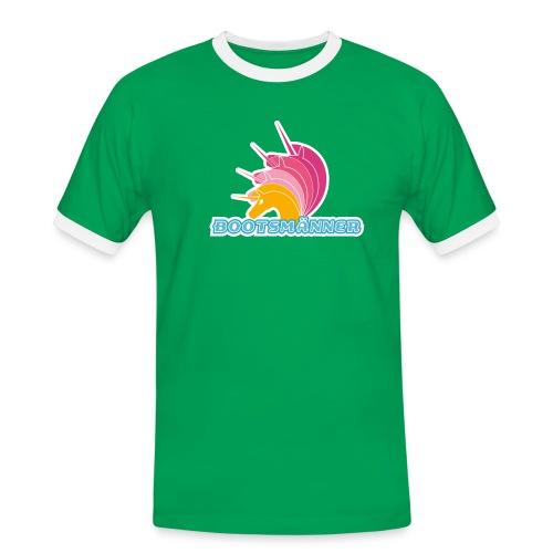 Bootsmänner Shirt 2-farbig - Männer Kontrast-T-Shirt