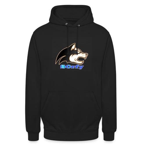 S0rfy Men Black Hoodie (NEW Logo) (Limited Edition) - Unisex Hoodie