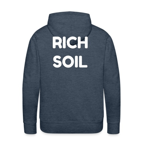 RICH SOIL DARK GREEN MEN - Sweat-shirt à capuche Premium pour hommes