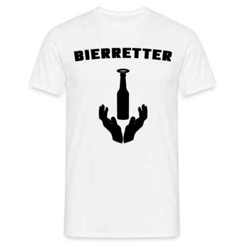 Bieretter Logotext - Männer T-Shirt