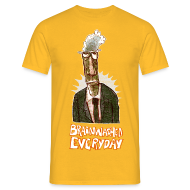 T-Shirts ~ Men's T-Shirt ~ brainwashed everday
