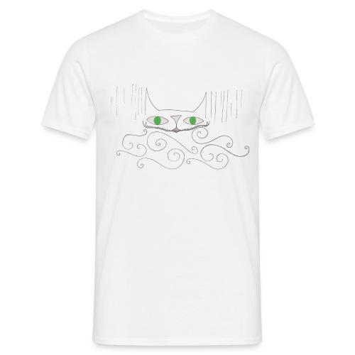 Smiley Cat Tee, Man - Men's T-Shirt