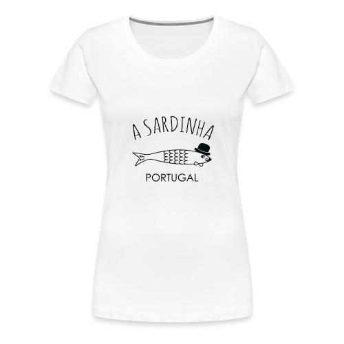 A Sardinha - Portugal - T-shirt Premium Femme