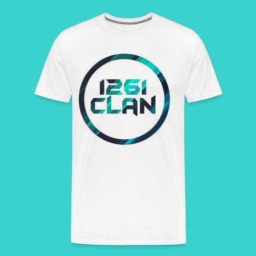 1261 Clan Men's Tee - Blue Logo - Men's Premium T-Shirt