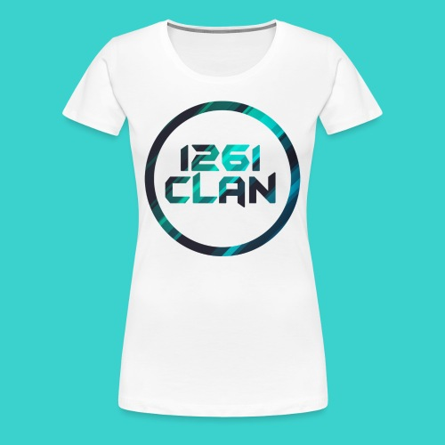 1261 Clan Women's Tee - Blue Logo - Women's Premium T-Shirt