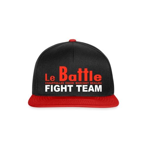 La casquette officielle Fight Team du Battle - Casquette snapback
