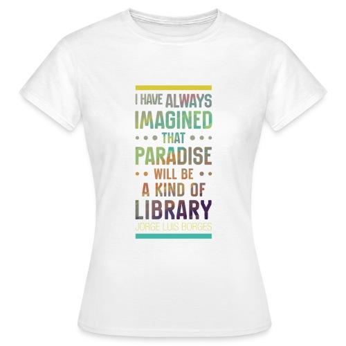Paradise - T-shirt Femme