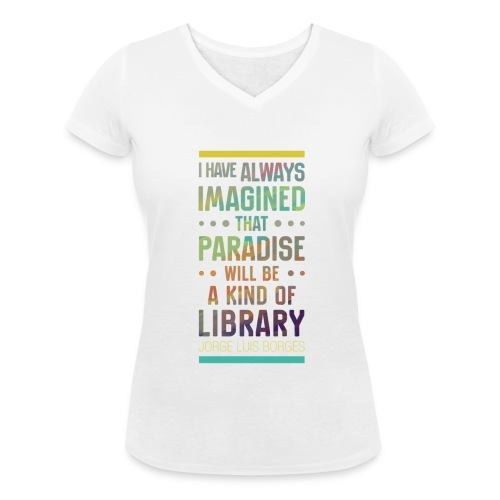 Paradise - T-shirt bio col V Stanley & Stella Femme