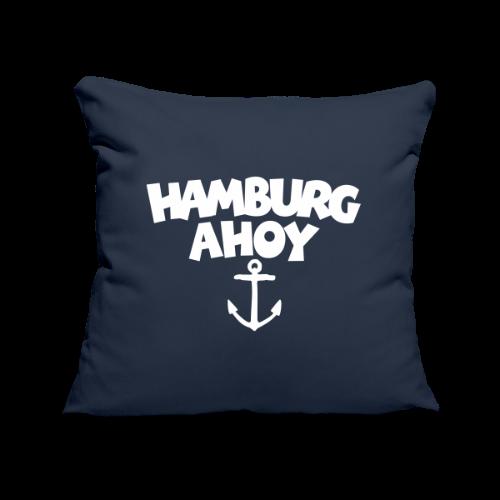 Hamburg Ahoy (Anker) Kissenbezug - Sofakissenbezug 44 x 44 cm