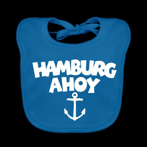 Hamburg Ahoy (Anker) Babylätzchen - Baby Bio-Lätzchen
