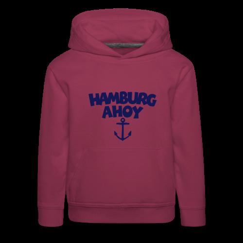 Hamburg Ahoy (Anker) Kinder Hoodie - Kinder Premium Hoodie