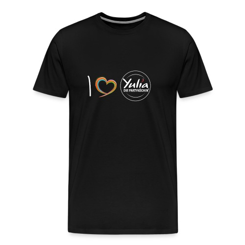 I Love Yulia Shirt Mann - Männer Premium T-Shirt