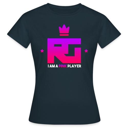T-shirt RealityGaming Joueuse rose - T-shirt Femme