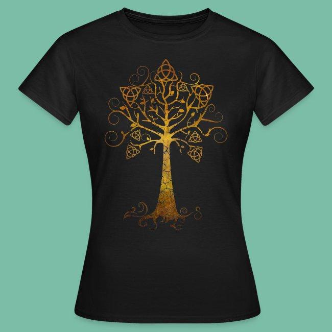 tee shirt femme arbre phare Brocéliande  Spirit
