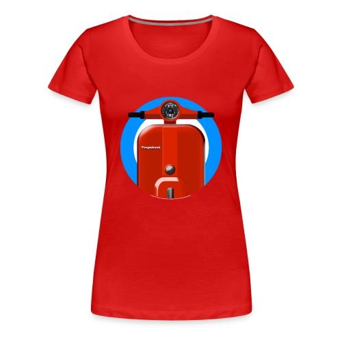Vespabook - Women's Premium T-Shirt