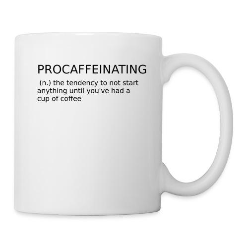 Procaffeinating cup - Mug blanc