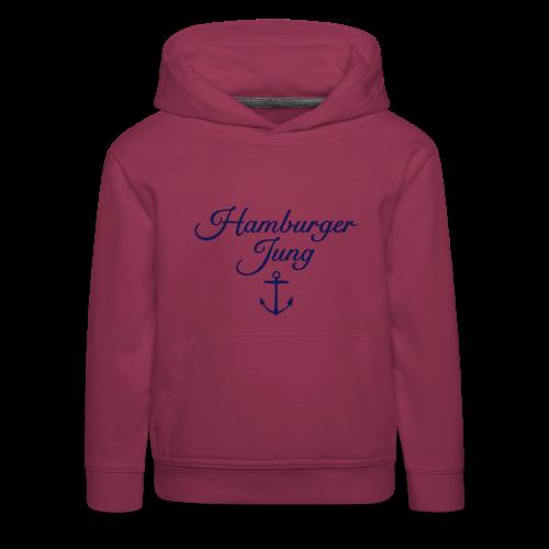 Hamburger Jung Anker Classic Kinder Hoodie - Kinder Premium Hoodie