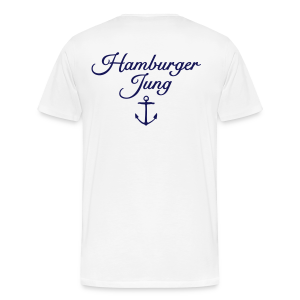 Hamburger Jung Anker Classic S-5XL T-Shirt - Männer Premium T-Shirt