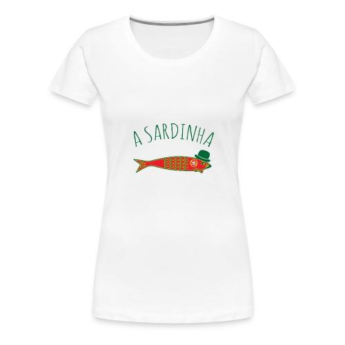 A Sardinha - Bandeira - T-shirt Premium Femme