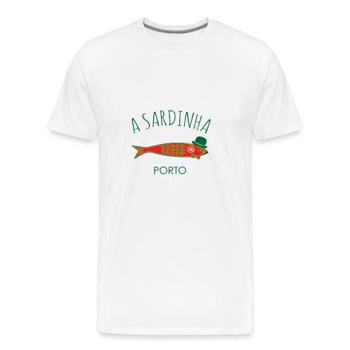 A Sardinha - Bandeira Porto - T-shirt Premium Homme