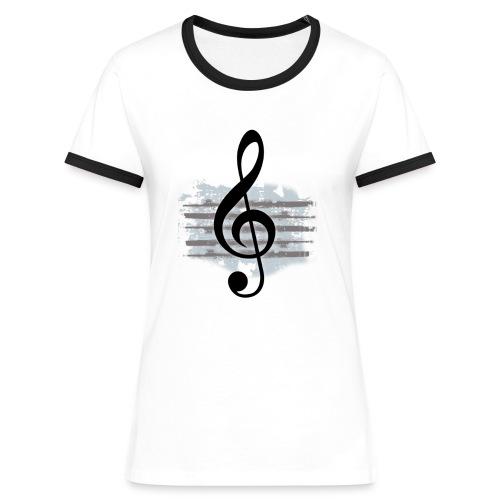 G Clef - Women's Ringer T-Shirt