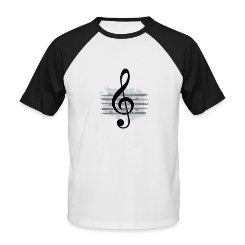G Clef - Men's Baseball T-Shirt