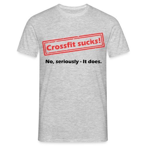 Crossfit sucks. It really does! - Männer T-Shirt