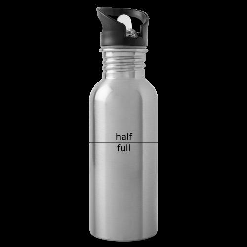 Half full/Half empty Water Bottle - Water Bottle