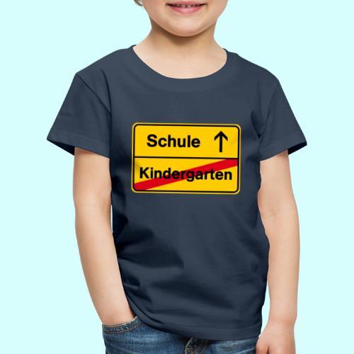 Mit Vollgas in die Schule - Kinder Premium T-Shirt