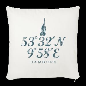 Hamburg Koordinaten Michel Vintage Dunkel