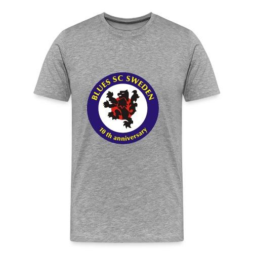 T-shirt - herr - med rygg - Premium-T-shirt herr