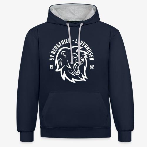 Hoodie Lions Club - Navy - Kontrast-Hoodie