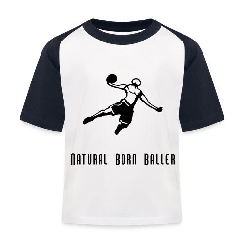 Child's Born Baller Top - Kids' Baseball T-Shirt