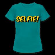 T-shirts ~ Vrouwen T-shirt ~ Selfie! (dames)