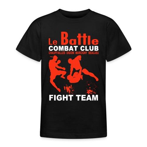 Le tee-shirt ados officiel de la Fight Teamdu Battle - T-shirt Ado