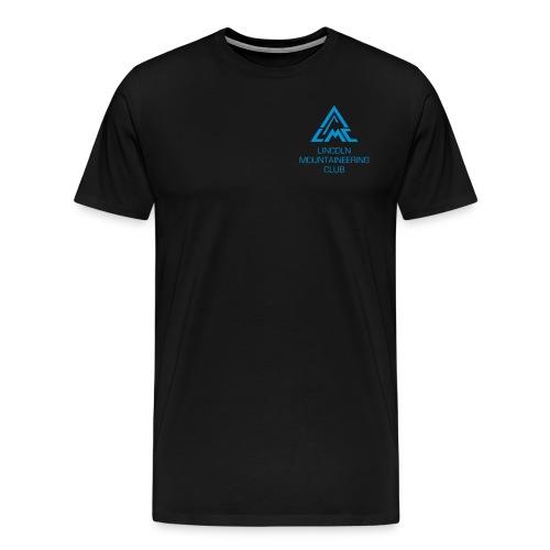 Premium T-Shirt w' Light Blue LMC Logo - Men's Premium T-Shirt