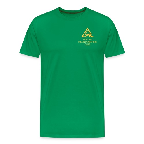 Premium T-Shirt w' Sunrise Yellow LMC Logo - Men's Premium T-Shirt