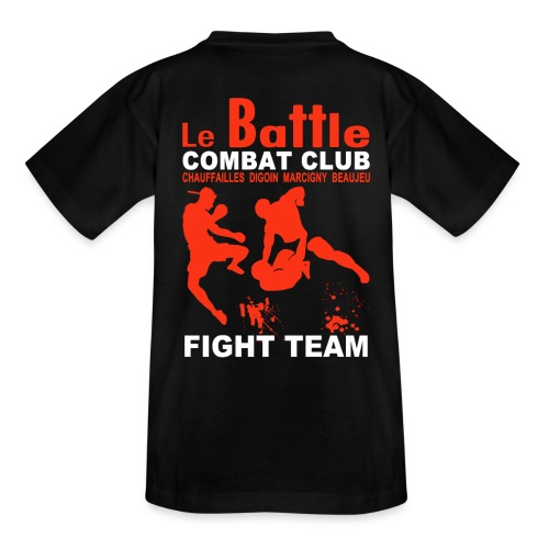Le tee shirt enfants officiel de la Fight Team du Battle - T-shirt Enfant