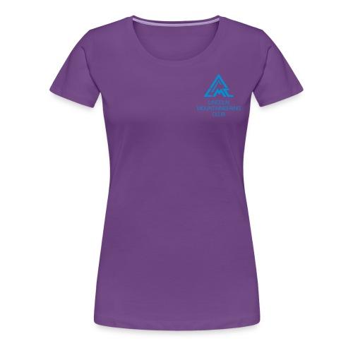 Premium T-Shirt w' Light Blue LMC Logo - Women's Premium T-Shirt
