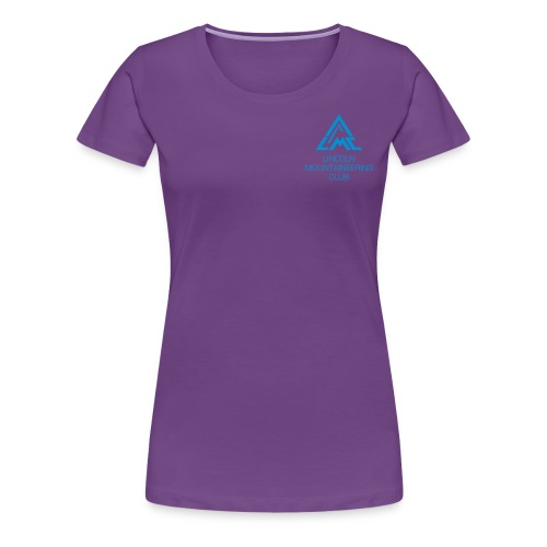 Premium T-Shirt w' Light Blue LMC Logo - Women's Premium T-Shirt