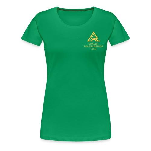 Premium T-Shirt w' Sunrise Yellow LMC Logo - Women's Premium T-Shirt