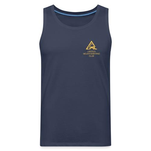 Premium Tank Top w' Sunrise Yellow LMC Logo - Men's Premium Tank Top