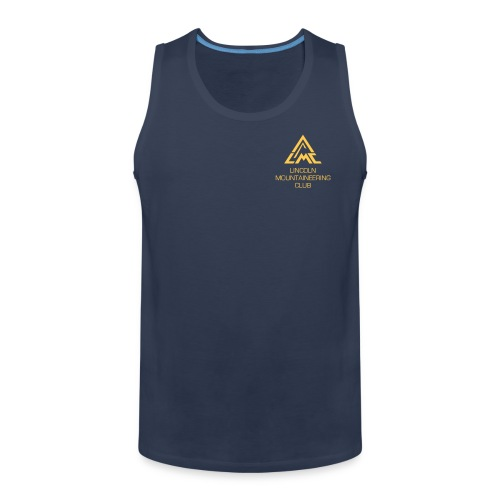 Premium Tank Top w' Sunrise Yellow LMC Logo - Men's Premium Tank Top