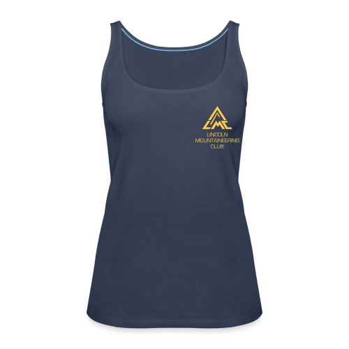 Premium Tank Top w' Sunrise Yellow LMC Logo - Women's Premium Tank Top