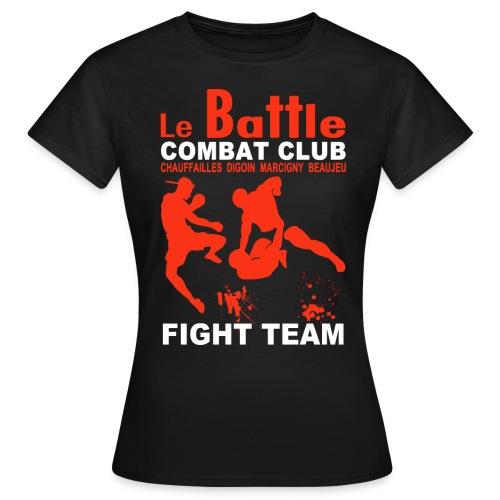 Le tee-shirt femme officiel de la Fight Team du Battle - T-shirt Femme