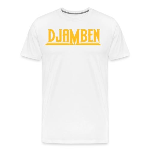 LOGO JAUNE - T-shirt Premium Homme
