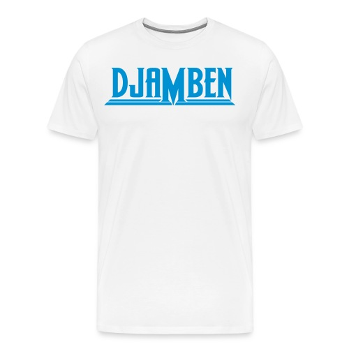 LOGO BLEU - T-shirt Premium Homme