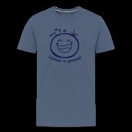 T-shirts ~ Mannen Premium T-shirt ~ Lachen is gezond!