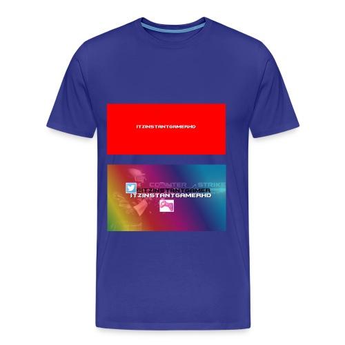 ItzInstantGamer tshrt - Men's Premium T-Shirt