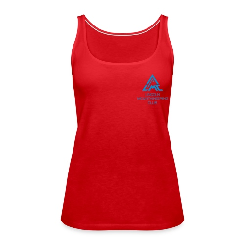 Premium Tank Top w' Light Blue LMC Logo - Women's Premium Tank Top